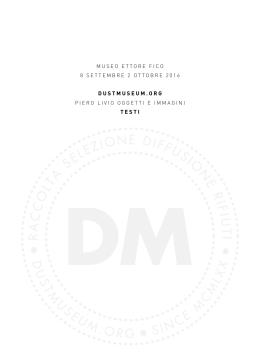 dustmuseum.org – Piero Livio