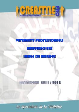 Téléchargez notre catalogue Ambulanciers Pdf - Creastyle-pro