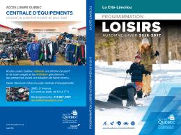 LOISIRS - Ville de Québec