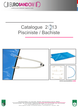doc-Gamme Piscine