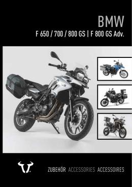 F 650 / 700 / 800 GS | F 800 GS Adv. - SW