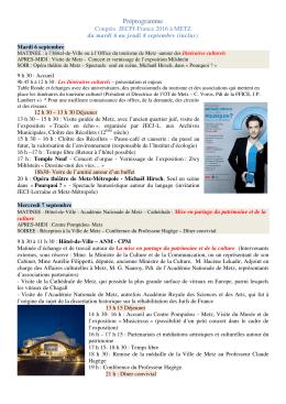 Préprogramme congrès JECPJ Metz 2016