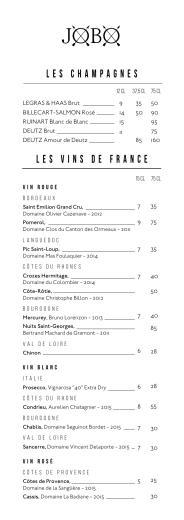 Les vins de France Les champagnes