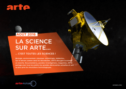 LA SCIENCE SUR ARTE