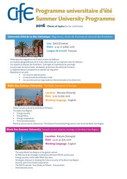 Programme 2016 PDF