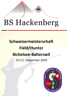 Schweizermeisterschaft Field/Hunter Bichelsee-Balterswil