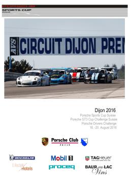 Dijon 2016 - Porsche Club Zürich