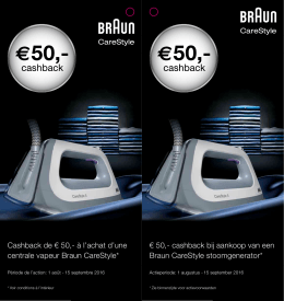 Braun Carestyle - Kitchen Market