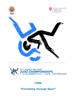 "CISM ""Friendship through Sport"""