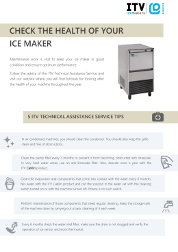 check the health of your ice maker
