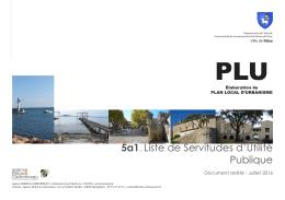 5a1. Liste de Servitudes d`Utilité Publique