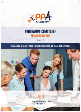 programme comptable