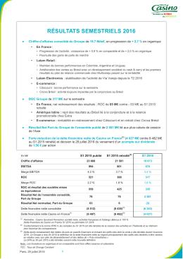 CP - Rėsultats S1 2016