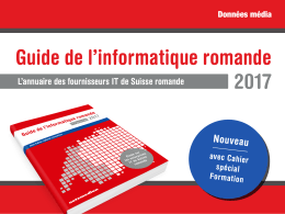 Guide de l`informatique romande 2017