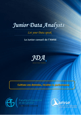 Présentation - Junior Data Analysts