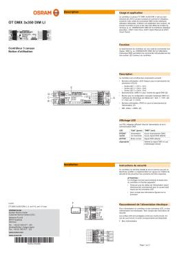 OT DMX 3x350 DIM LI