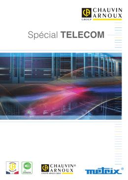 Spécial Télécom - Chauvin Arnoux