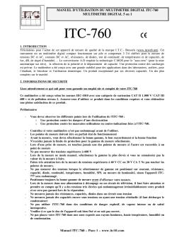 ITC-760 - rue des sabots