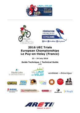 2016 UEC Trials European Championships Le Puy