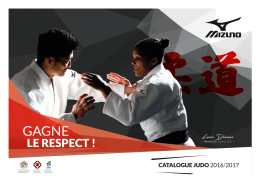 Catalogue 2016/2017 - massilia-judo