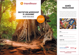 Workshop Travelhouse