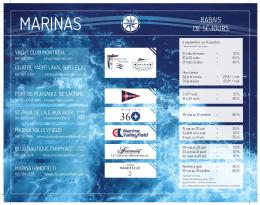 Depliant marina 2016 LOW