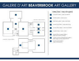 View Floorplan - Beaverbrook Art Gallery
