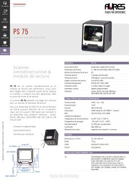Fiche produit PS75