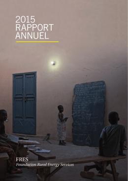 Télecharger rapport annuel 2015
