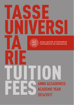 Brochure Tasse Universitarie