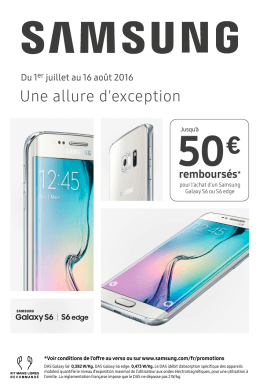 Samsung Galaxy S6/S6edge