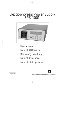 Electrophoresis Power Supply EPS 1001