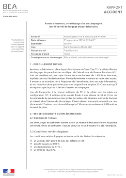 Rapport final (FR)