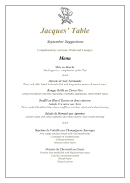 to view - Jacques Table