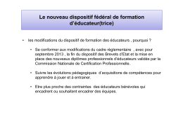 le_nouveau_dispositif_federal_de_formation_d`educateur