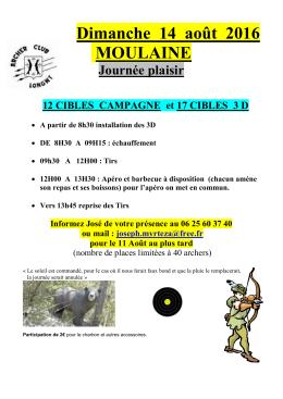 Dimanche 14 août - Les archers de Longwy