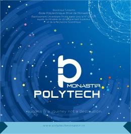 Plaquette Polytechnique - Ecole Polytechnique Privée de Monastir