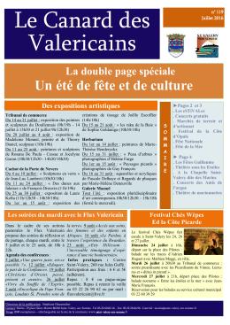 Le Canard des Valericains - Saint-Valery-sur