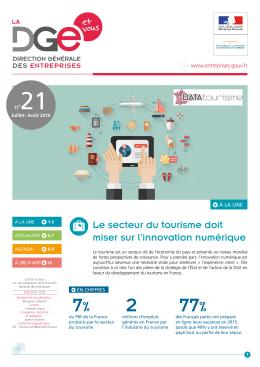 2 7% 77% - La DGE et VOUS