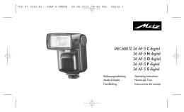 MECABLITZ 36 AF-5 C digital 36 AF-5 N digital 36 AF-5 O