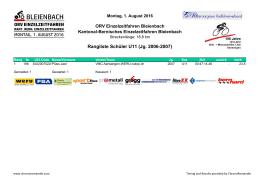 2016 Ranglistenvoralge ORV EZF Bleienbach ChronoRomandie.xlsx