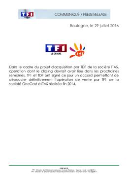 0.18Mo - Groupe TF1