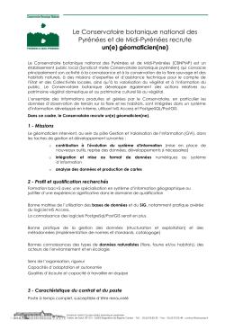 Le Conservatoire botanique national des Pyrénées et de Midi