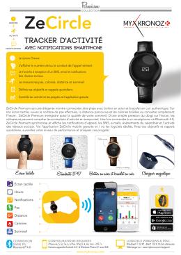 tracker d`activité