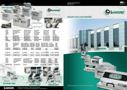 ITALIAN VACUUM MAKERS