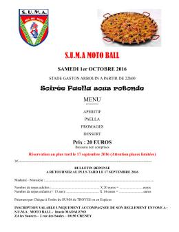 formulaire Paella 2016