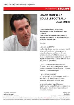 dans mon sang coule le football - Blog