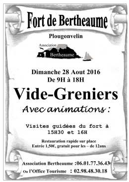 Bulletin inscription vide-greniers 2016