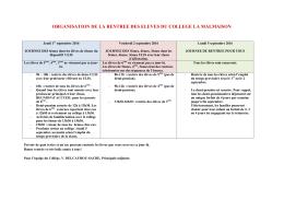 Document - Collège La Malmaison