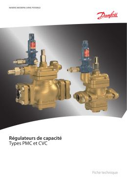 Régulateurs de capacité Types PMC et CVC